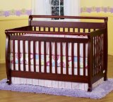 Black Friday DaVinci Emily Convertible Baby Crib in Cherry